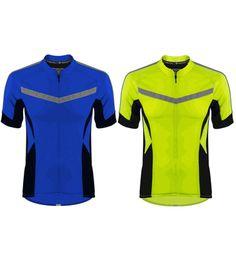 d189b0433 Aero Tech TALL Men s Pace Cycling Jersey High Vis
