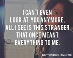 That once meant everything to me