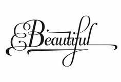 beautiful type