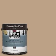 BEHR Premium Plus Ultra 1-Gal. #UL140-9 Basketry Satin Enamel Exterior Paint