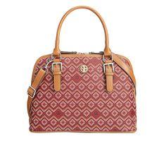 Giani Bernini Saffiano Graphic Dome Satchel, Only at Macy's - Handbags &…