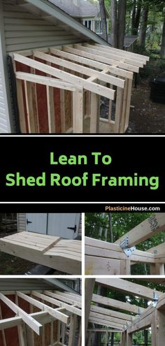 How To Build A Lean To Shed [Complete Step-by-Step Guide]How To Build A Lean To Shed [Complete Step-by-Step Guide]How to Build a Lean-To Shedlean-to-shed-construction-diagramPictures of Lean To Sheds Lean To Roof, Palette Deco, Shed Construction, Firewood Shed, Build Your Own Shed, How To Build, Casa Patio, Greenhouse Plans, Large Greenhouse
