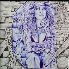 Behind Ear Tattoos, Lowrider Art, Aztec Art, Chicano Art, Tattoo Flash, Badass, Tattoo Ideas, Owl, Princess Zelda