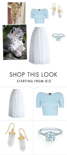 """Earnest"" by mustash1 ❤ liked on Polyvore featuring Chicwish, Topshop, BillyTheTree and Tiffany & Co."