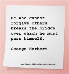 This quote is everything to me at this present time. Trying to figure out how to forgive someone who has hurt me immensely & has yet to apologize for it...