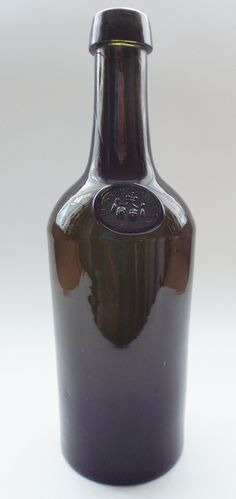 Antique Bottles 132 - July - Internet Auction - Continental Spa Water Bottle from Bad Pyrmont in Germany.