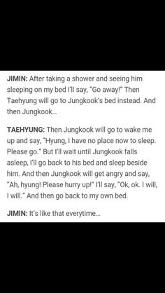 Jungkook and V in the same bed