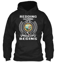 Redding, California - My Story Begins