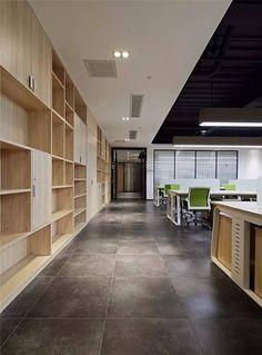 现代简约办公空间,以形、光、色展现的独特魅力【设易网971期】