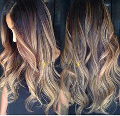 Painted pravana hair