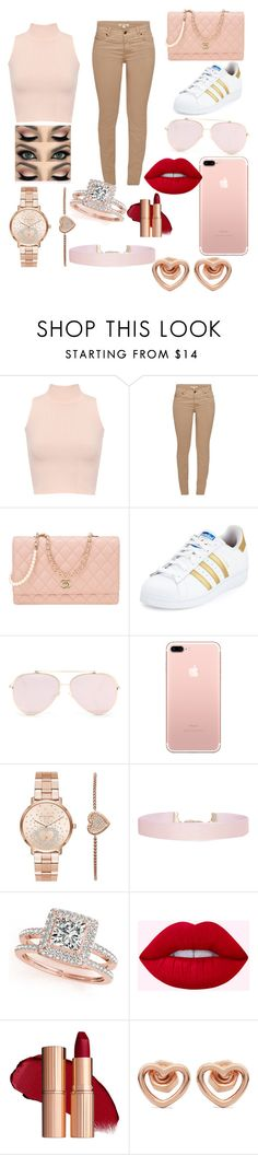 """I love it"" by natalia-lopez289 ❤ liked on Polyvore featuring WearAll, Barbour, Chanel, adidas, Michael Kors, Humble Chic, Allurez and Marc by Marc Jacobs"