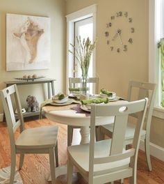 how to fit a dining room into small spaces home decor pinterest