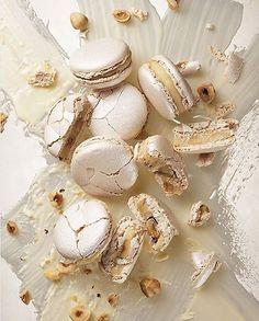 Pierre Hermé - white truffle and hazelnut macarons. https://www.instagram.com/pierreherme_th/