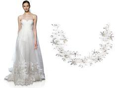 Vestidos Christos y tocado de cristales hecho a mano EsTher Omaña para @ateliernupcial   wedding / tocado de novia / headpiece