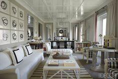 House Tour: A Dazzling Madrid Apartment  - ELLEDecor.com