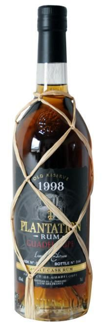 Plantation 1998 Guadeloupe Run. Almost sold out....