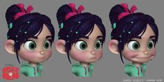 Zack Petroc - Disney http://www.zbrushcentral.com/showthread.php?178524-Wreck-it-ralph!!!=1024891=1#post1024891