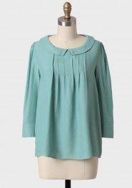 fresh start collared blouse