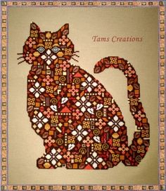 Cross Stitch Patches series