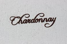 Chardonnay Wine Word Antique Copper Paint Metal Wall Art Home Decor Black ** Check out this great product. (This is an affiliate link and I receive a commission for the sales)
