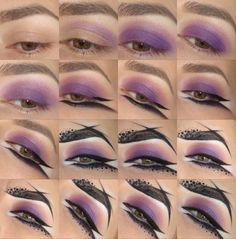 Monochromatic Graphic Eyeliner - Tutorial @nalbantova   *VISIT SITE FOR FULL PRODUCT LIST + TUTORIAL*    Share your looks to be featured #GlamExpress or www.glam-express.com/upload ( Upload on site to win cool stuff )   #mua #makeup #makeuptutorial #eyes #greeneyes #howto #spring #summer #monochrome #graphiceyeliner #purple #eyeliner #avantgarde #wingedeyeliner
