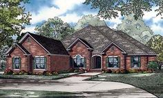 House Plan 82145 | European    Plan with 3624 Sq. Ft., 4 Bedrooms, 4 Bathrooms, 3 Car Garage