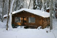 The Logs at Canyon Creek - Mount Baker Cabin Rentals in Glacier, Washington