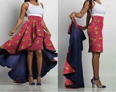 African two piece skirt / Ankara Pencil Skirt / Ankara Skirt / African skirt / African Print Midi Skirts / African clothing / Ankara skirt Africanstylesforladies - African Styles for Ladies African Fashion Skirts, African Prom Dresses, Red Homecoming Dresses, African Dress, Pencil Skirt Casual, Pencil Skirt Outfits, Pencil Skirts, How To Wear Blazers, Ankara Skirt And Blouse