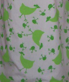 Detail: Amazing Vintage The Vested Gentress Green Print Shift Dress Sz.12  Quails w/Alines?