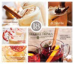 18 Holiday Drink Recipes