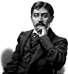 Marcel Proust    ---     llustrations by Mark Summers