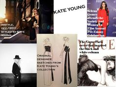 YOUNG BEGAN HER CAREER AT VOGUE MAGAZINE, ASSISTING ANNA WINTOUR AND TONNE GOODMAN. WHAT MAKES KATE YOUNG UNIQUE IS HER ABILITY TO MOVE AMONG WORLDS WITH THE HIGHEST LEVELS OF CREATIVITY AND INTEGRITY INTACT