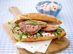 Gesundes Abendessen – lecker-leichte Rezepte - steak-sandwich  Rezept