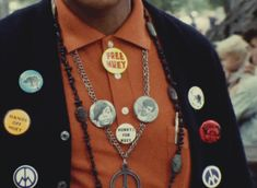 """This is a still from the documentary, """"Black Panthers - Huey!"""" directed by French filmmaker Agnès Varda, 1968."""