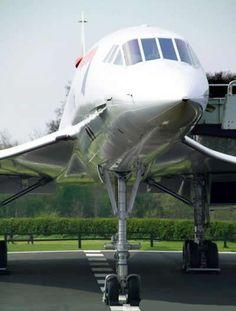 British Airways Concorde Nose View http://milehighjobs.co.uk