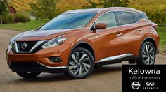 Introducing the 2015 Nissan Murano. This is the vehicle that stole the auto shows and this video produced by Kelowna Infiniti Nissan shows why.