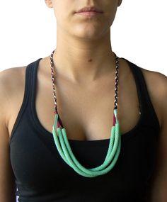 Triple necklace (Loving Jade)