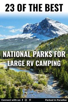 From East coast to West coast plan your next National Park vacation. The best US travel destinations for RV campgrounds. Ultimate list and tips for an amazing road trip with kids or with dogs! Cascade National Park, North Cascades National Park, Everglades National Park, Capitol Reef National Park, Grand Teton National Park, Rocky Mountain National Park, Yellowstone National Park, National Parks, Moraine Park