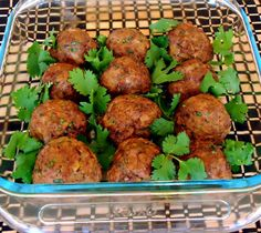 Asian Meatballs with Sesame Lime Dipping Sauce