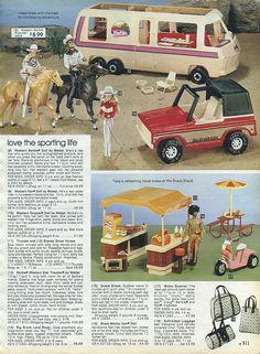 Barbies!! 1982-xx-xx Sears Christmas Catalog P511 by Wishbook, via Flickr