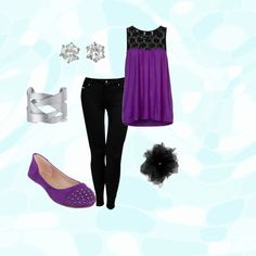 """Purpley"" by daddys-rose on Polyvore"