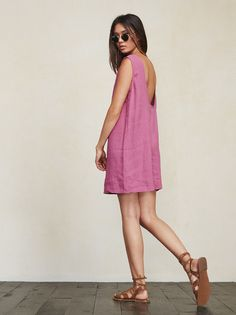 Loose and natural, like your parents in the 70s. The Barbados Dress. https://www.thereformation.com/products/barbados-dress-flamingo?utm_source=pinterest&utm_medium=organic&utm_campaign=PinterestOwnedPins