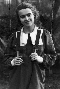 A very young Helena Bonham Carter . . .