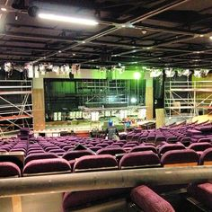 Norwegian Breakaway theater Photo by norwegiancruiseline