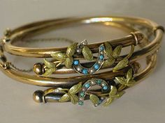 beautiful victorian bracelet