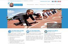 wwww.internacionalizaciondempresas.com Página corporativa hecha con Joomla.