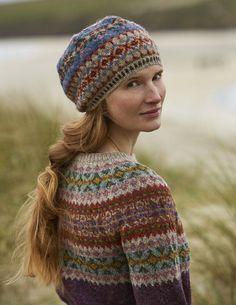 Punto Fair Isle, Motif Fair Isle, Fair Isle Pattern, Fair Isle Knitting Patterns, Knit Patterns, Stitch Patterns, Fair Isle Pullover, Shetland Wool, Fair Isles