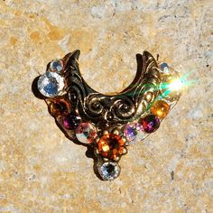 MOON MAGICK Bindi by FeatherPixie on Etsy, $16.00