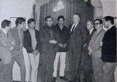 Paco Ignacio Taibo, José Agustín, Huberto Bátiz, René Avilés Fabila, Editor José Manuel Lara, Juan Rulfo, Fernando del Paso.
