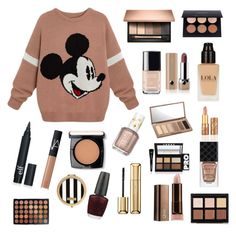 """""""Sans titre #14"""" by girlyaddict on Polyvore featuring mode, Marc Jacobs, Chanel, NARS Cosmetics, tarte, Urban Decay, Essie, Gucci, LORAC et Lancôme"""